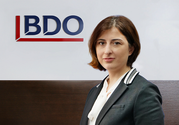 IRMA BERDZENISHVILI, Head of Process Efficiency and Transformation